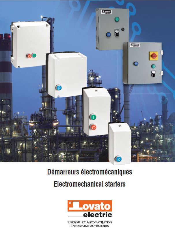 Electromechanical starters and enclosures